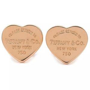 Tiffany&Co. Return To Tiffany Heart Tag Earrings